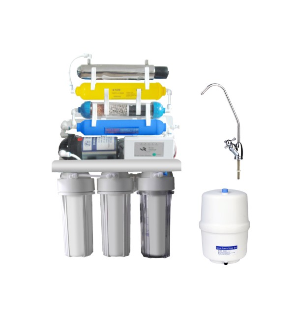 Reverse Osmosis System-KK-RO50G-X(7 stage with UV & computer)