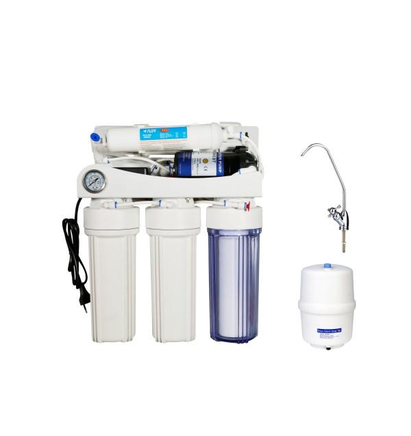 Reverse Osmosis System-KK-RO50G-Z(5 stage Pressure gauge)